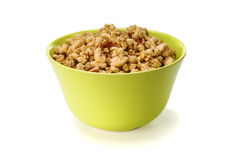 Oats cereal in a bowl Royalty Free Stock Photography