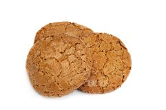 Oats cookies Stock Image