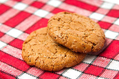 Oats cookies Royalty Free Stock Image