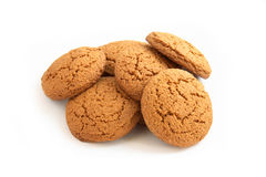 Oats cookies. On a photo oats cookies. The photo is isolated Stock Photo