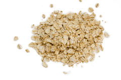 Oats flakes Stock Photos