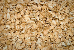 Oats flakes. Light background of oats flakes stock photo