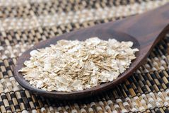Oats flakes Stock Photography