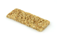 Oats and honey granola bar Stock Images