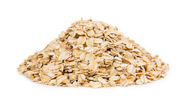 Oats isolated on white background Stock Images