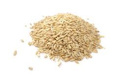 oats pile helt Arkivbilder