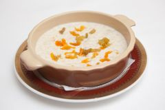 Oats porridge Stock Photography