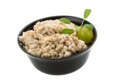 Oats porridge Royalty Free Stock Photo