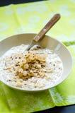 Oats porridge Stock Photo