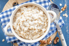 Oats porridge Stock Photos