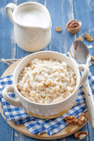 Oats porridge Stock Images