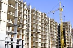 Oavslutad byggnad Arkivbilder