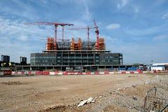 Oavslutat West Midlands storstads- sjukhus Arkivbilder