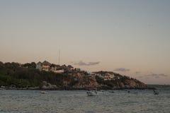 Oaxaca-Küste Lizenzfreies Stockbild