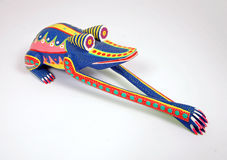 Oaxaca Mexico Leaping Frog art royalty free stock photo