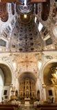 Oaxaca Church Interior Panorama Stock Photo