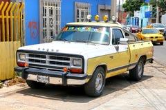 Dodge Ram 150. Oaxaca, Mexico - May 25, 2017: Pickup truck Dodge Ram 150 in the city street royalty free stock photos