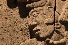 Prehispanic art at Rufino Tamayo Museum in Oaxaca Mexico. Oaxaca, Oaxaca / Mexico - 21/7/2018: Prehispanic art at Rufino Tamayo Museum in Oaxaca Mexico royalty free stock photo