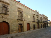 Oaxaca Streets II Royalty Free Stock Photo