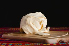 Oaxacakaas, quesillo, quesadillavoedsel van Mexico royalty-vrije stock afbeelding