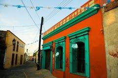 Oaxacan Farbe Stockbild
