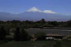 oaza od San Pedro De Atacama obrazy stock