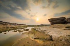 Oaza sampanbok Zdjęcie Royalty Free
