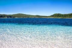 oaza tropikalna Zdjęcia Stock