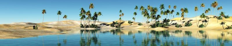 Oaza w Pustyni Obraz Royalty Free