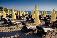 Oazy Plaża. Zdjęcie Stock