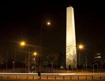 Obélisque chez Ibirapuera photographie stock libre de droits