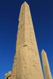 Obélisque dans le temple de Karnak Photographie stock