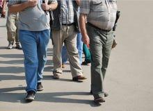 Obésité Images stock