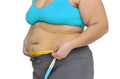 Obésité Photographie stock libre de droits