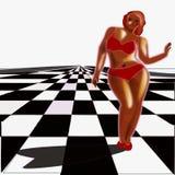 Obésité, de poids excessif photo stock