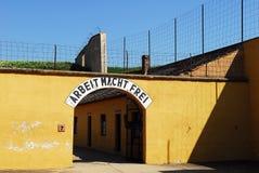 obóz śmierci pamiątkowy terezin Fotografia Royalty Free