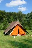 obóz Obraz Stock