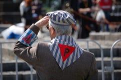 obóz były więzień nazistowski obraz royalty free