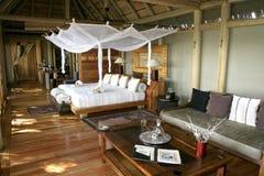 obóz luksusowy namiot Zdjęcie Stock