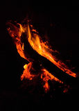 obóz ogień Zdjęcia Stock
