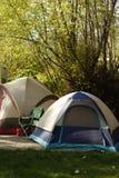 obóz wczesnym rankiem Zdjęcia Royalty Free