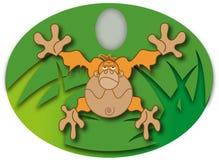 obłąkanie małpa Royalty Ilustracja