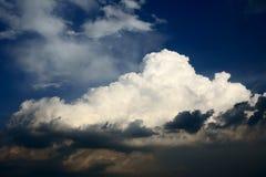 obłoczna burza Zdjęcia Stock