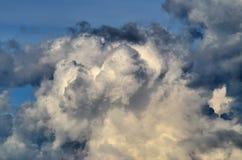 obłoczna burza Obraz Royalty Free