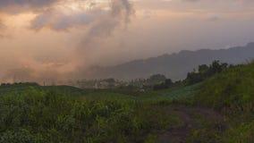 obłoczna mgły krajobrazu góry dolina Zdjęcie Royalty Free