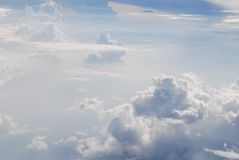 obłoczna wysokości wysokość obraz stock