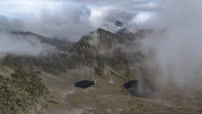 Obłoczne pokrywy góry zbiory wideo