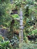 Obłoczni Lasowi przyciąganie ogródy Podpalanym natura parka Singapur zatoki Marina, Azja Obraz Stock
