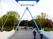 Obłoczny żagla most Obrazy Stock