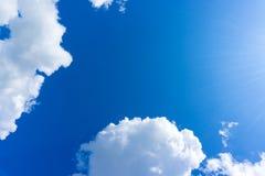 obłoczny błękit niebo Zdjęcie Stock